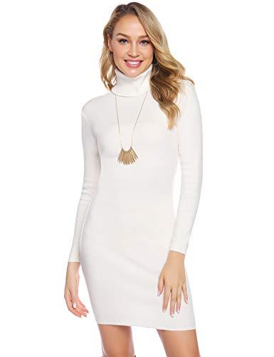 Top 10 Basic Kleid Weiß Langarm - Freizeitkleider für ...